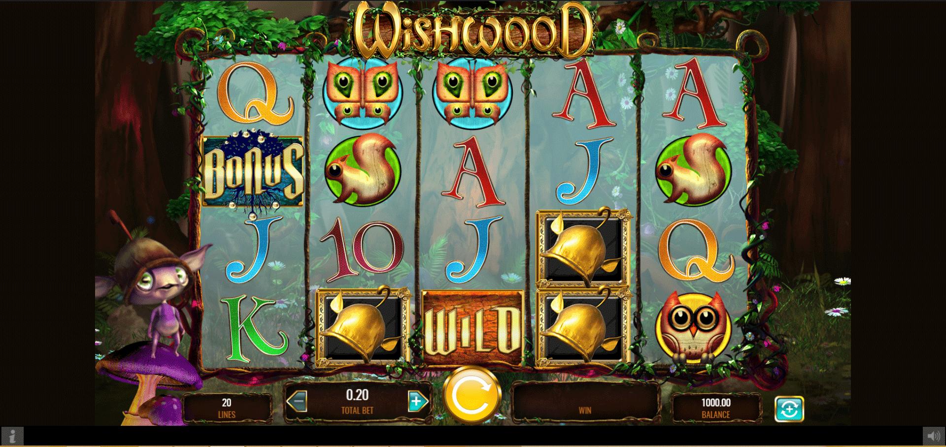 Slot WishWood