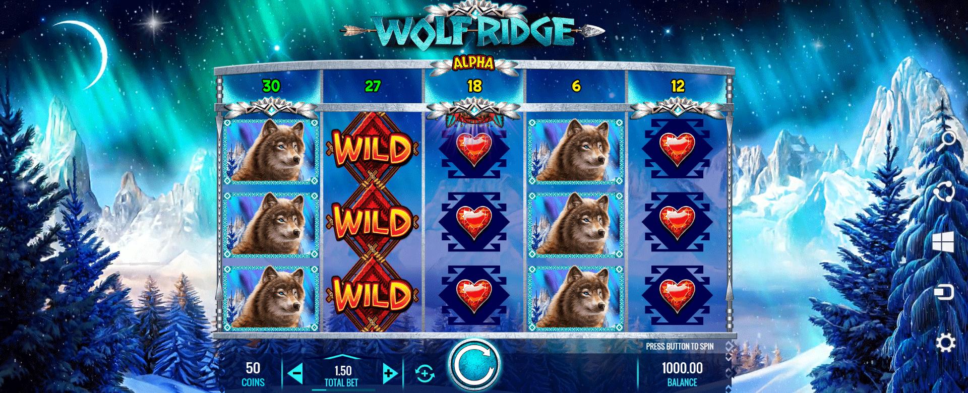 Slot Wolf Ridge