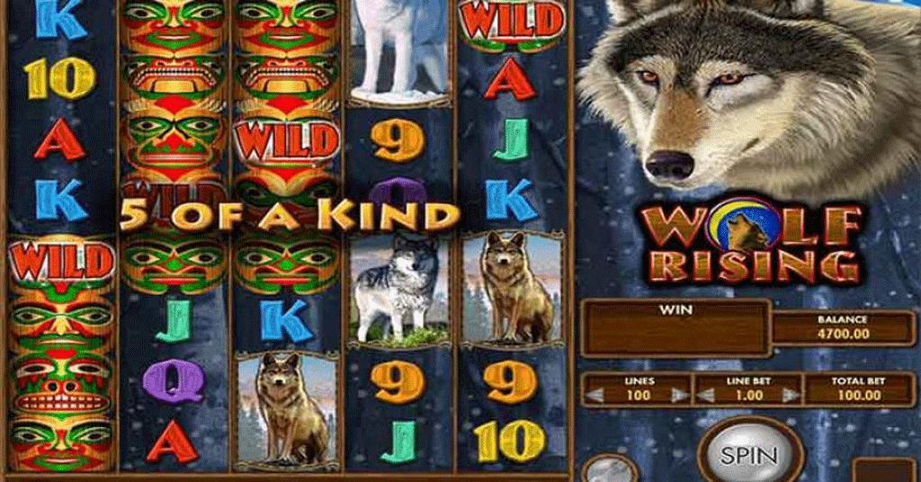 Slot Wolf Rising