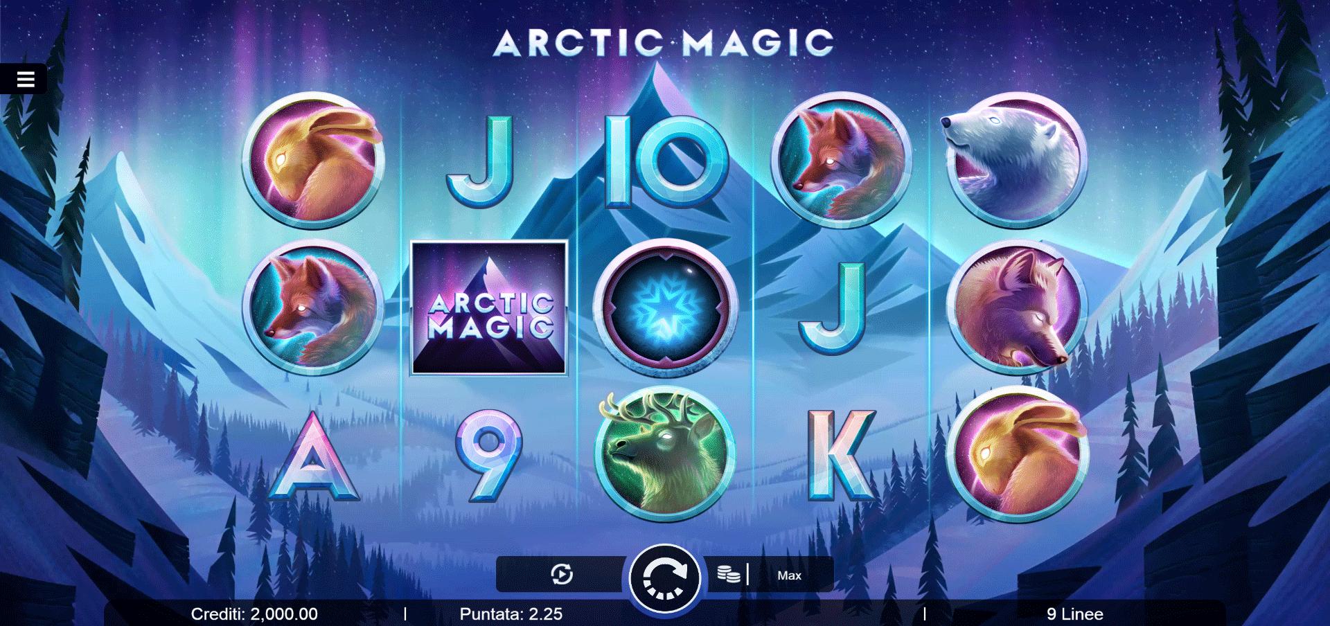 Slot Arctic Magic