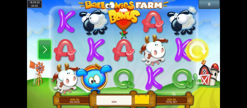 Slot Balloonies Farm