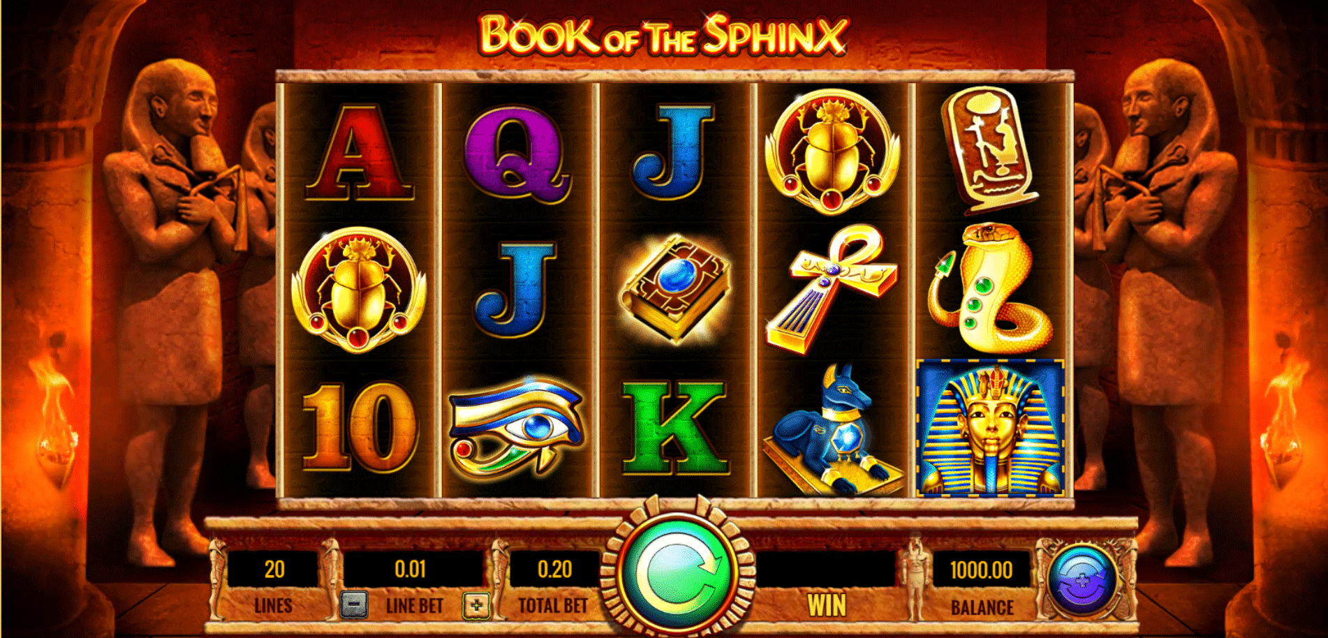 Slot Book of the Sphinx