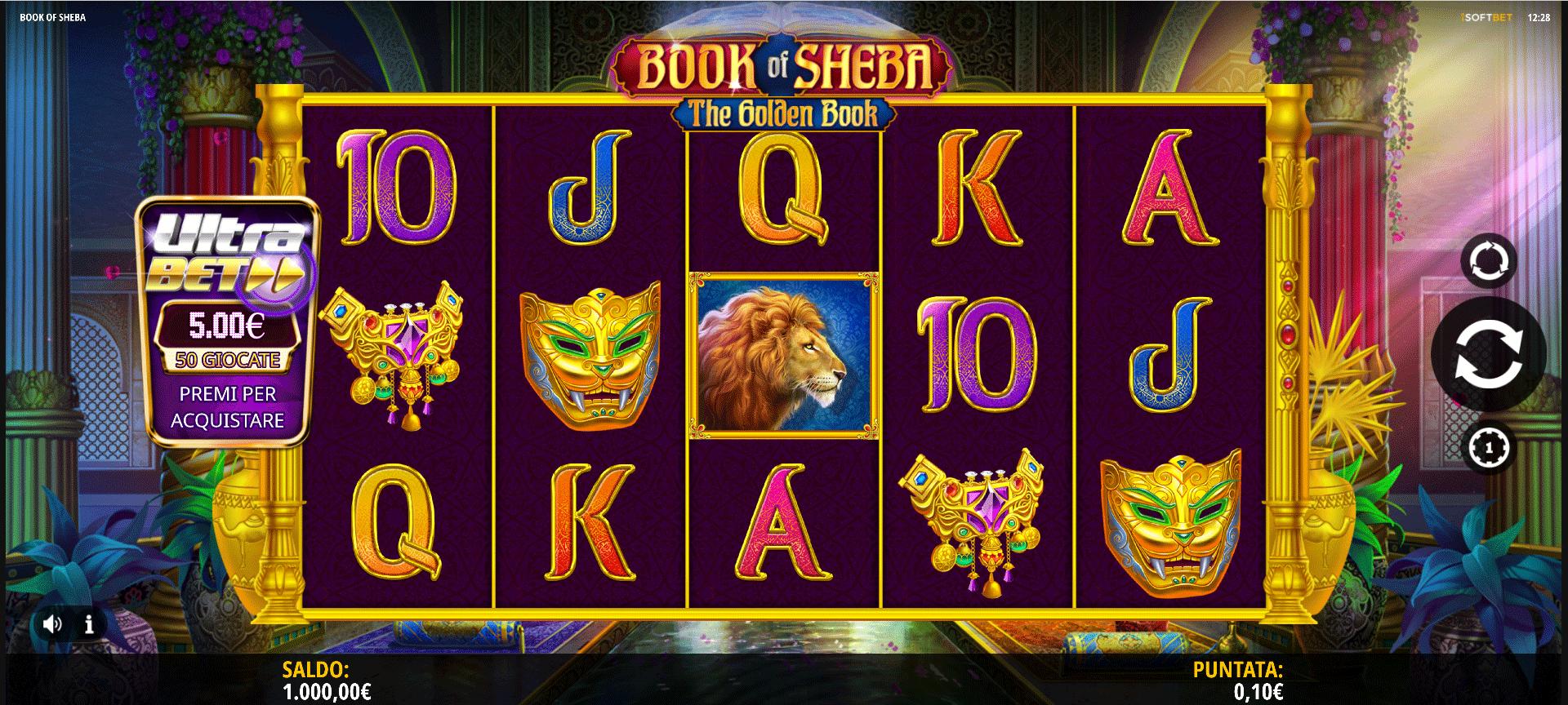Slot Book of Sheba