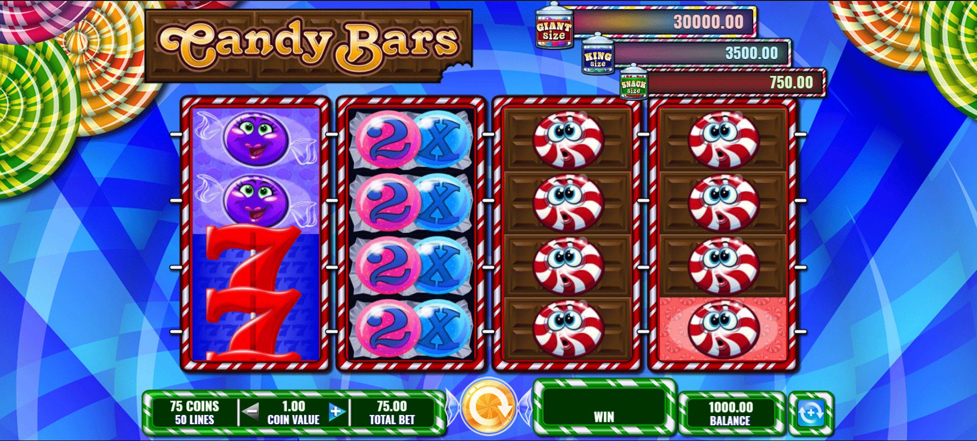 Slot Candy Bars