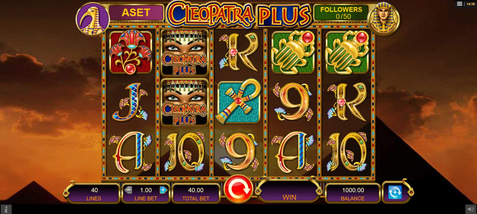 Slot Cleopatra PLUS