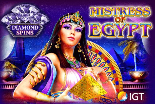 slot mistress of egypt diamond spins gratis