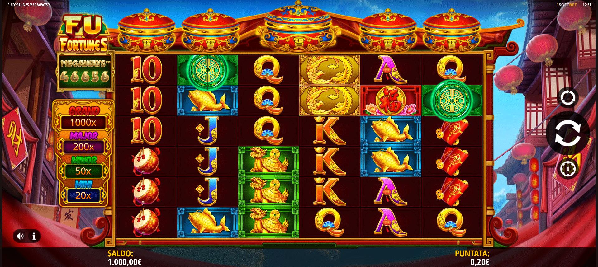 Slot Fu Fortunes Megaways