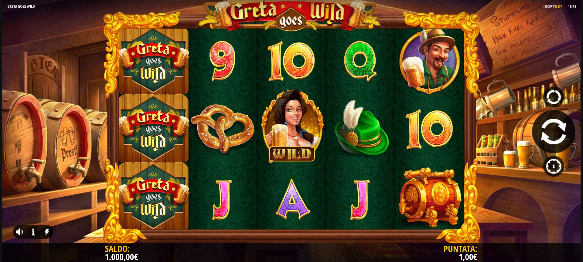 Slot Greta Goes Wild