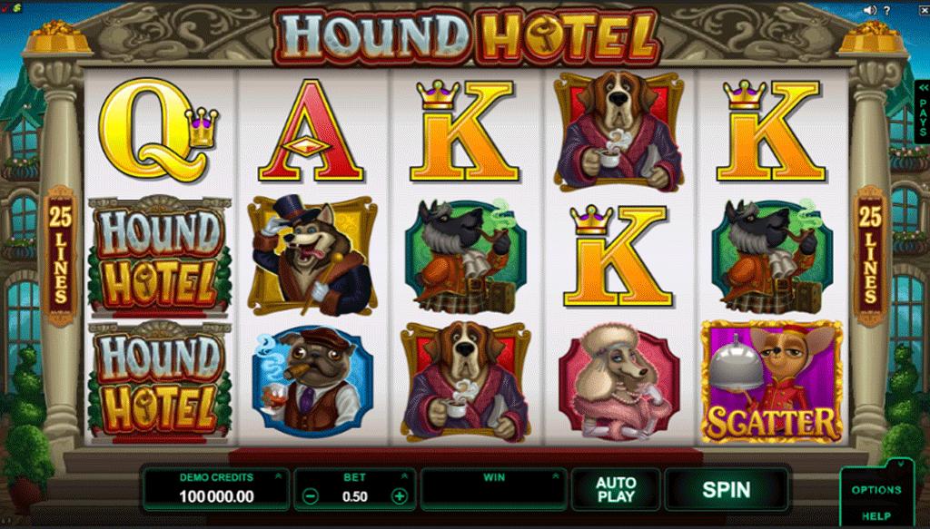 Slot Hound Hotel