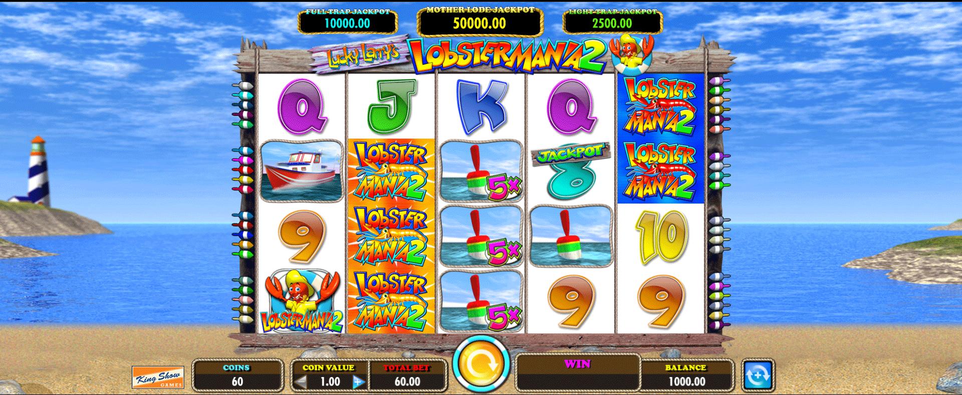 Slot Lucky Larry's Lobstermania 2