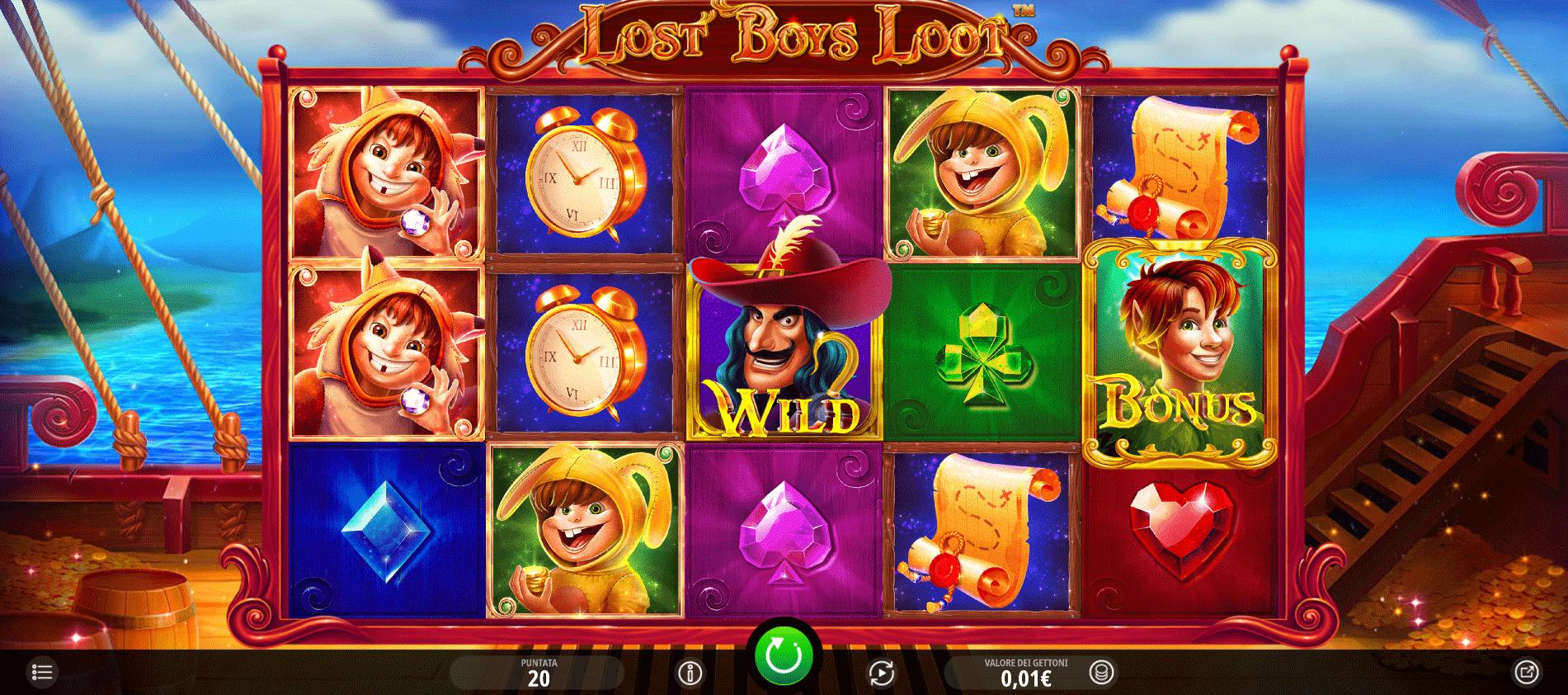 Slot Lost Boys Loot