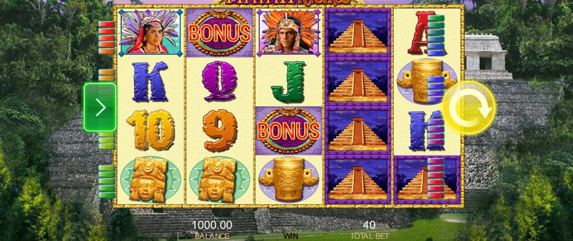 Slot Mayan Riches