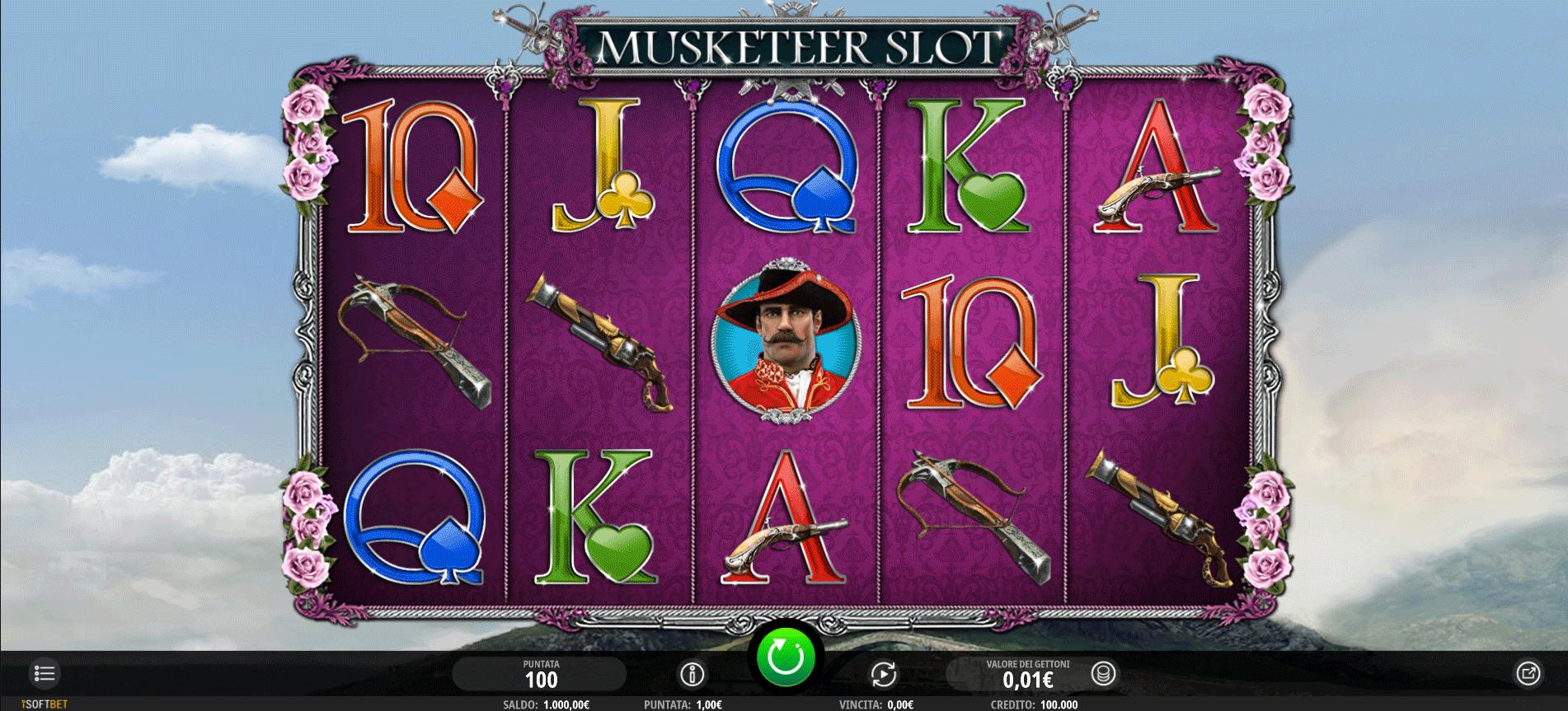 Slot Musketeer Slot