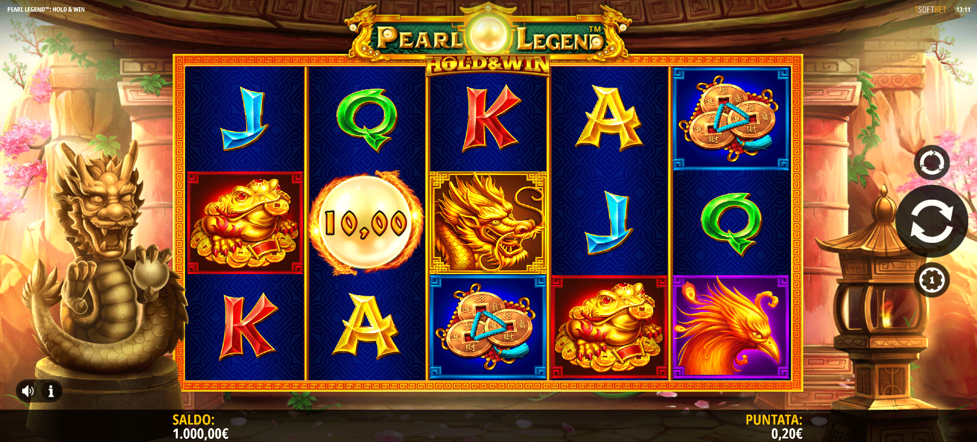 Slot Pearl Legend Hold and Win
