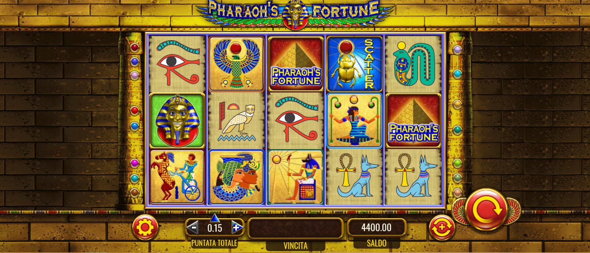 Slot Pharaoh's Fortune
