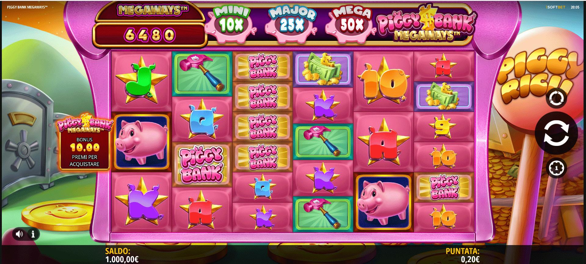Slot Piggy Bank Megaways