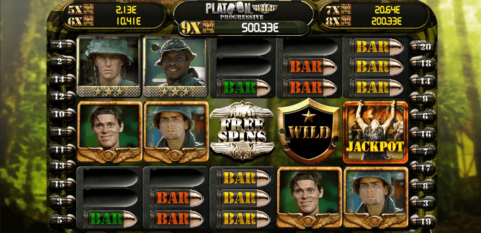 Slot Platoon Wild