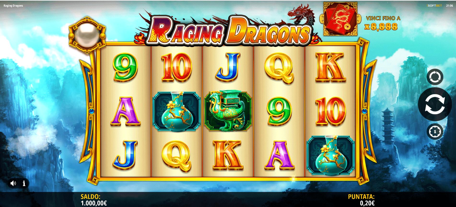 Slot Raging Dragons