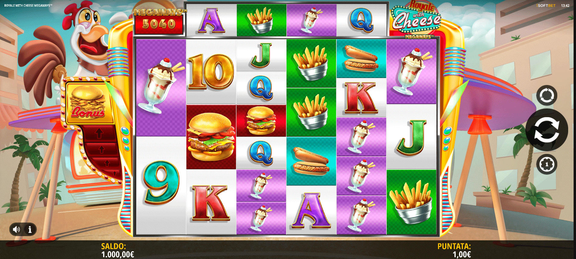 Slot Royale With Cheese Megaways