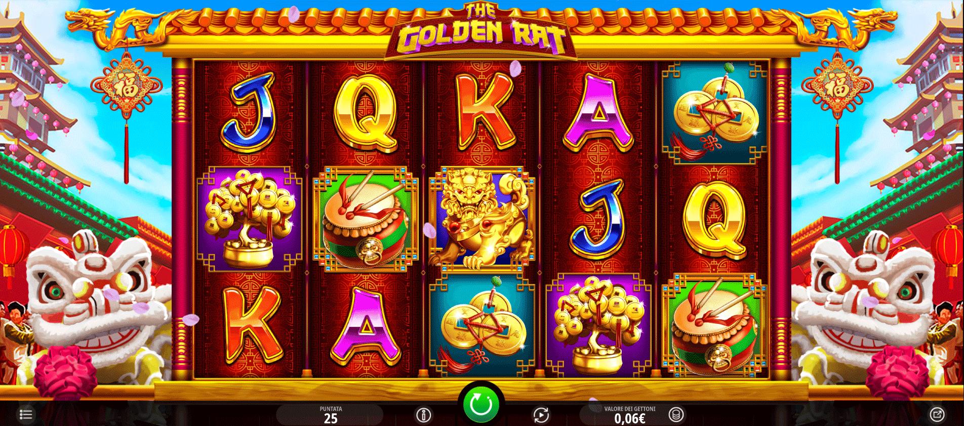 Slot The Golden Rat
