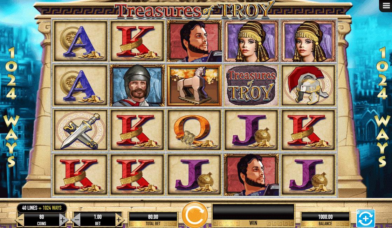 Slot Treasures of Troy