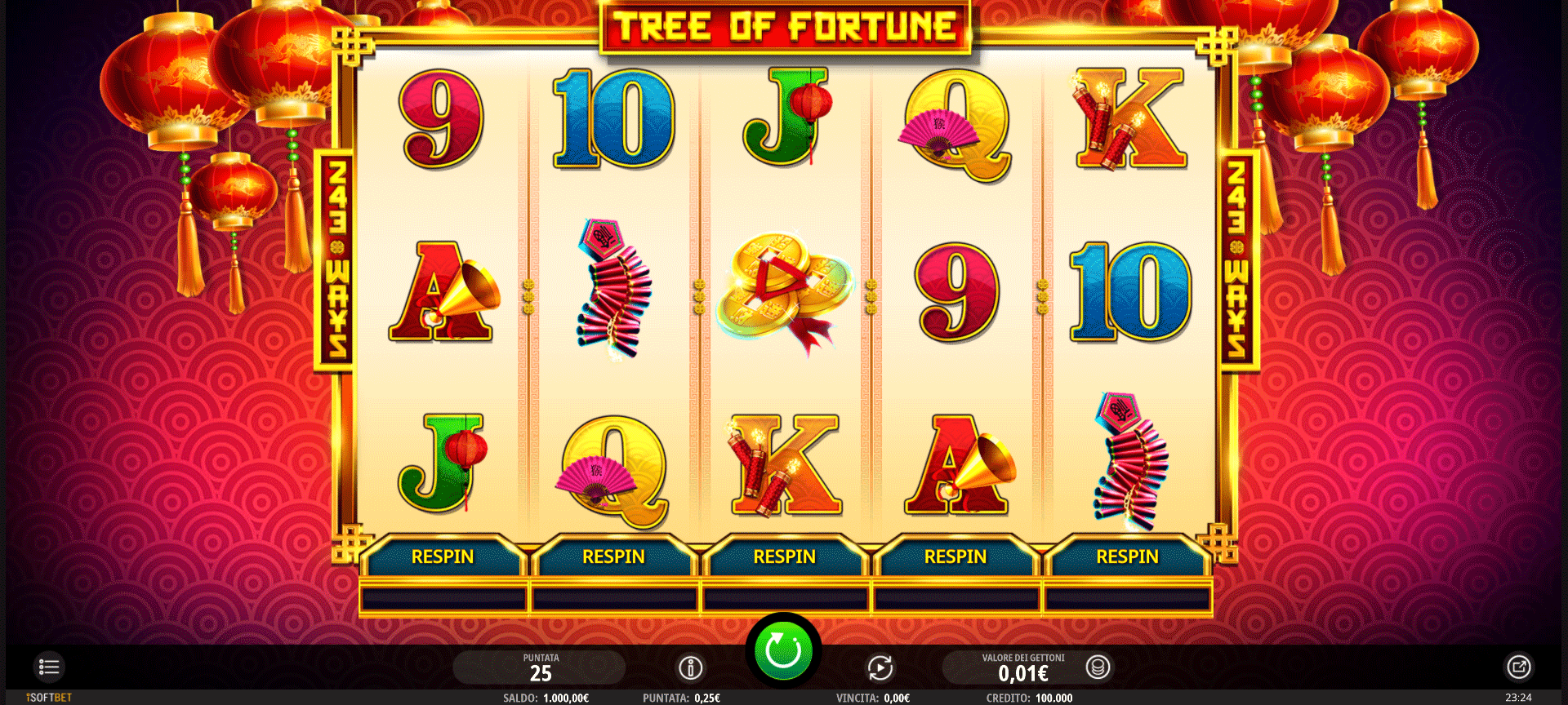 Slot Tree of Fortune
