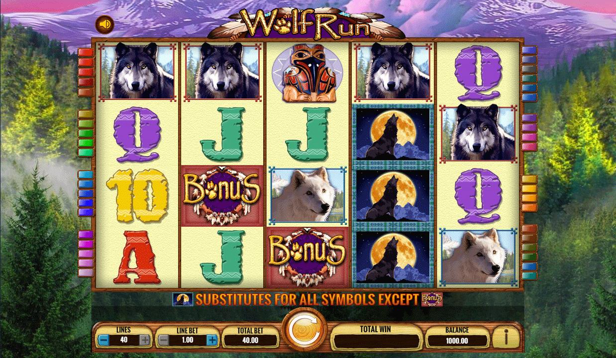 Slot Wolf Run