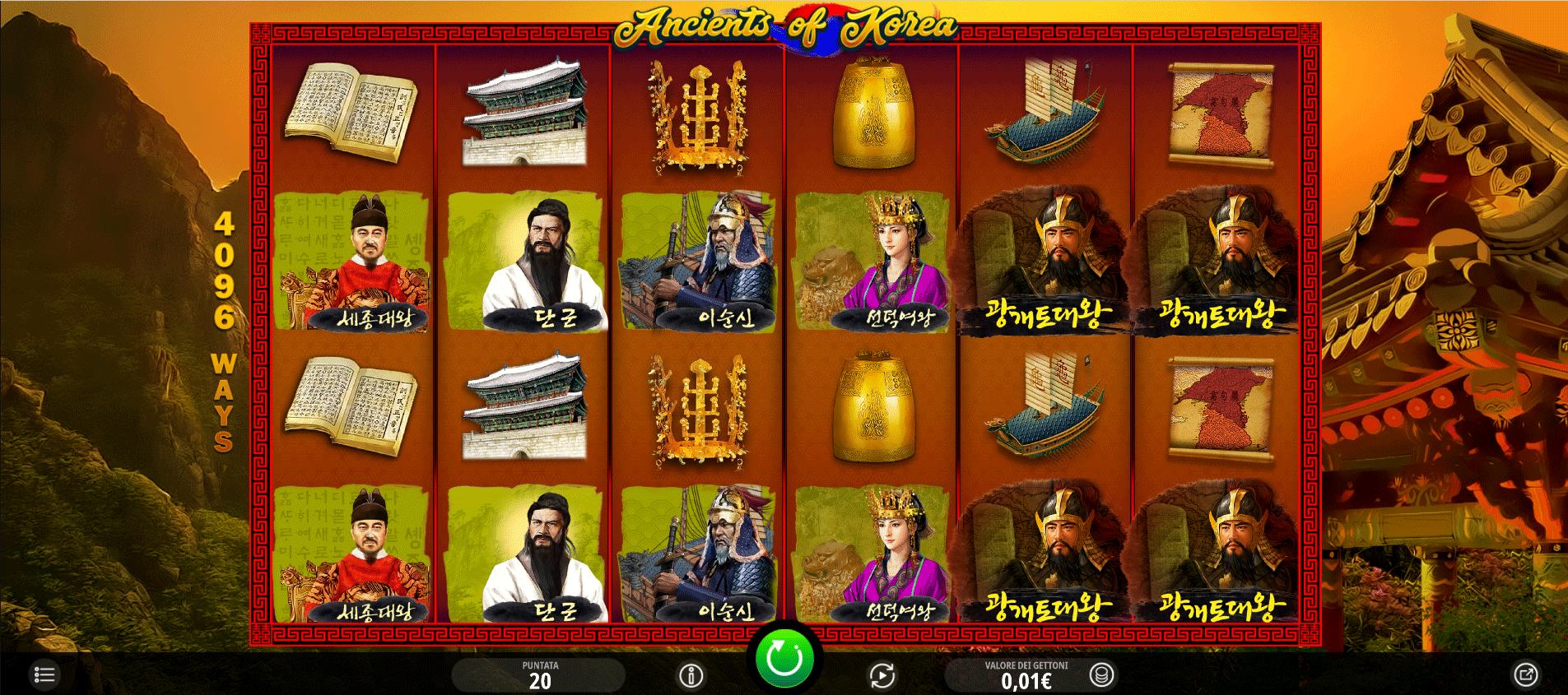 Slot Ancients of Korea