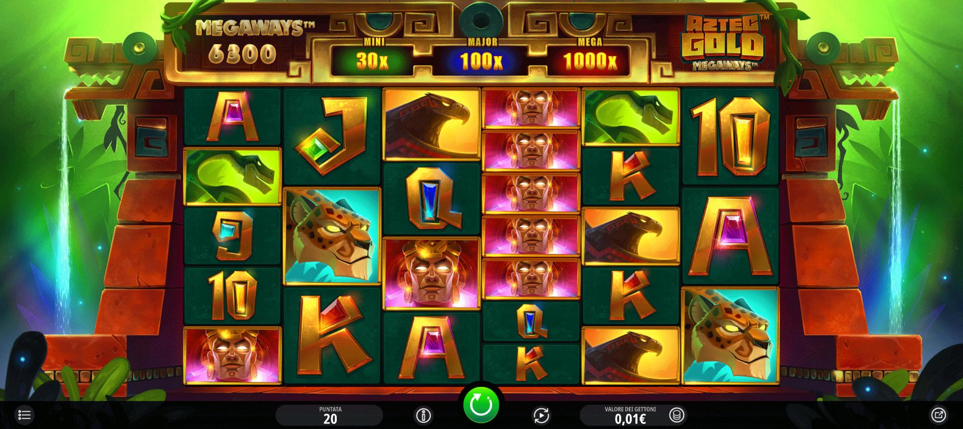 Slot Aztec Gold Megaways