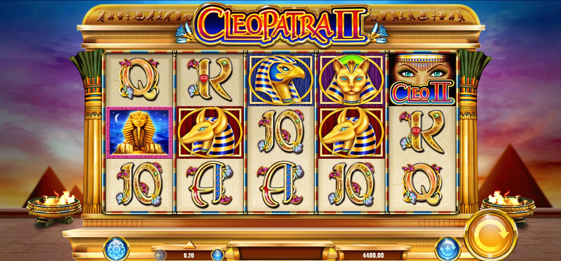 Slot Cleopatra II