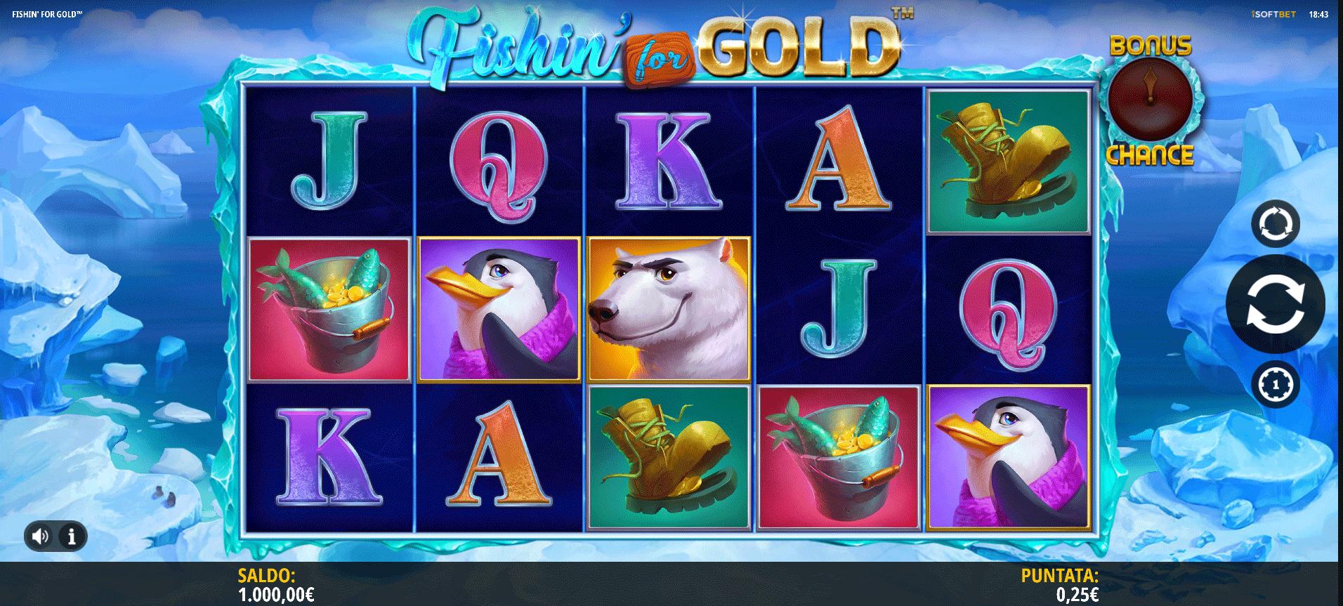 Slot Fishin For Gold