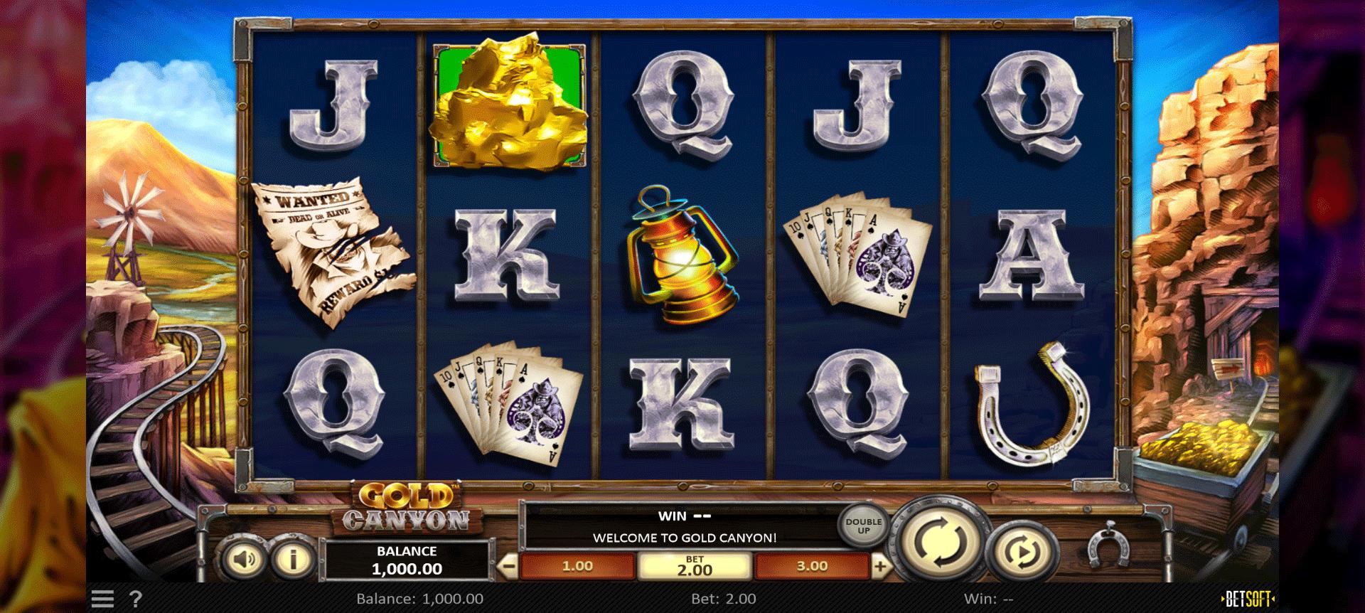 Slot Gold Canyon