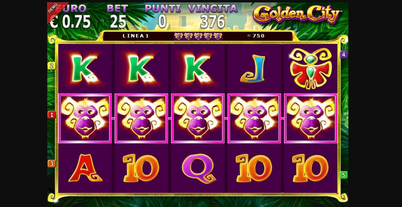 Slot Golden City