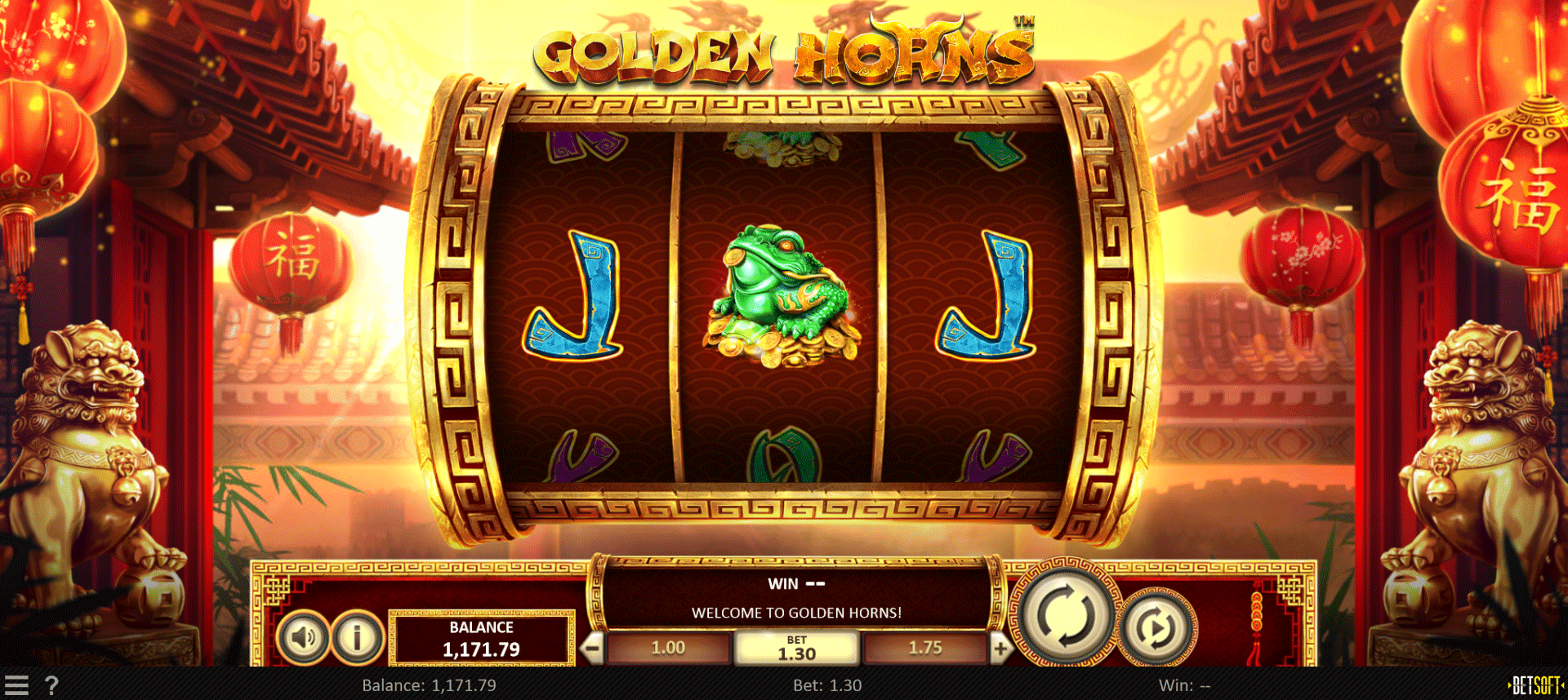 Slot Golden Horns
