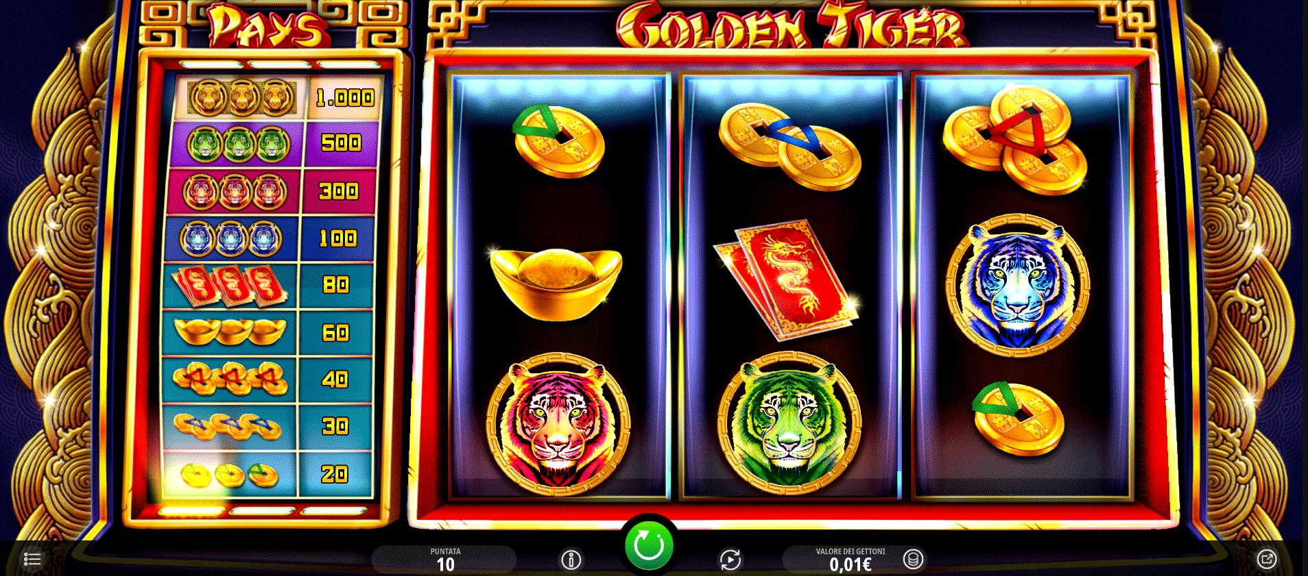 Slot Golden Tiger