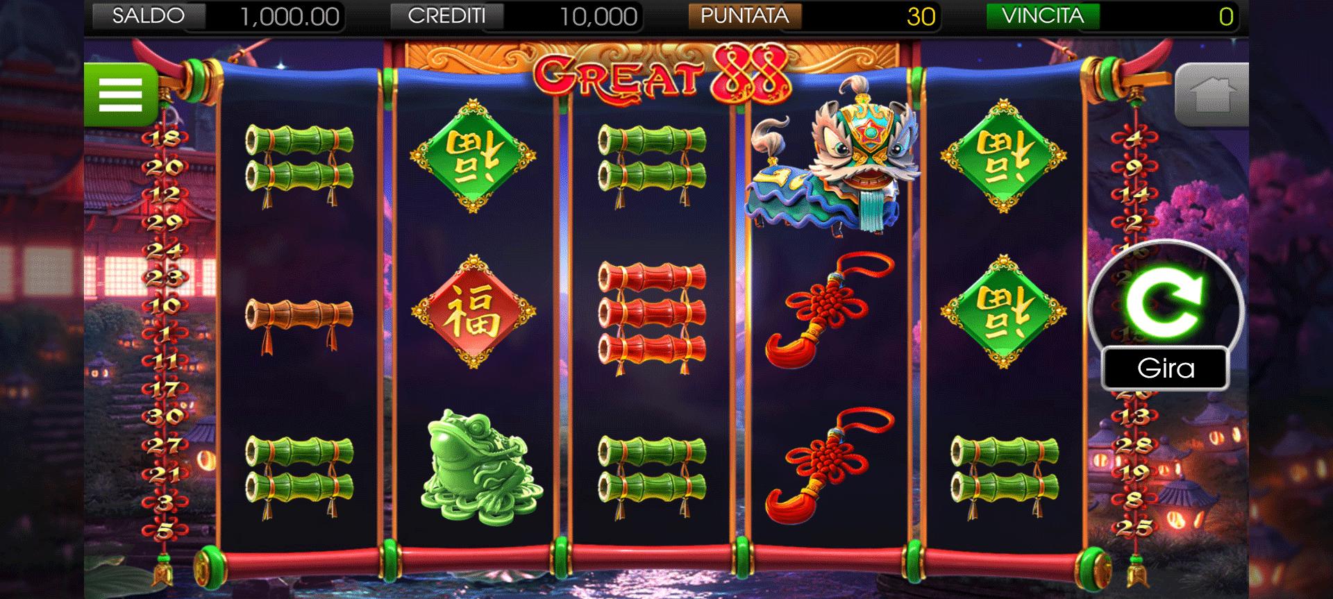 Slot Great 88
