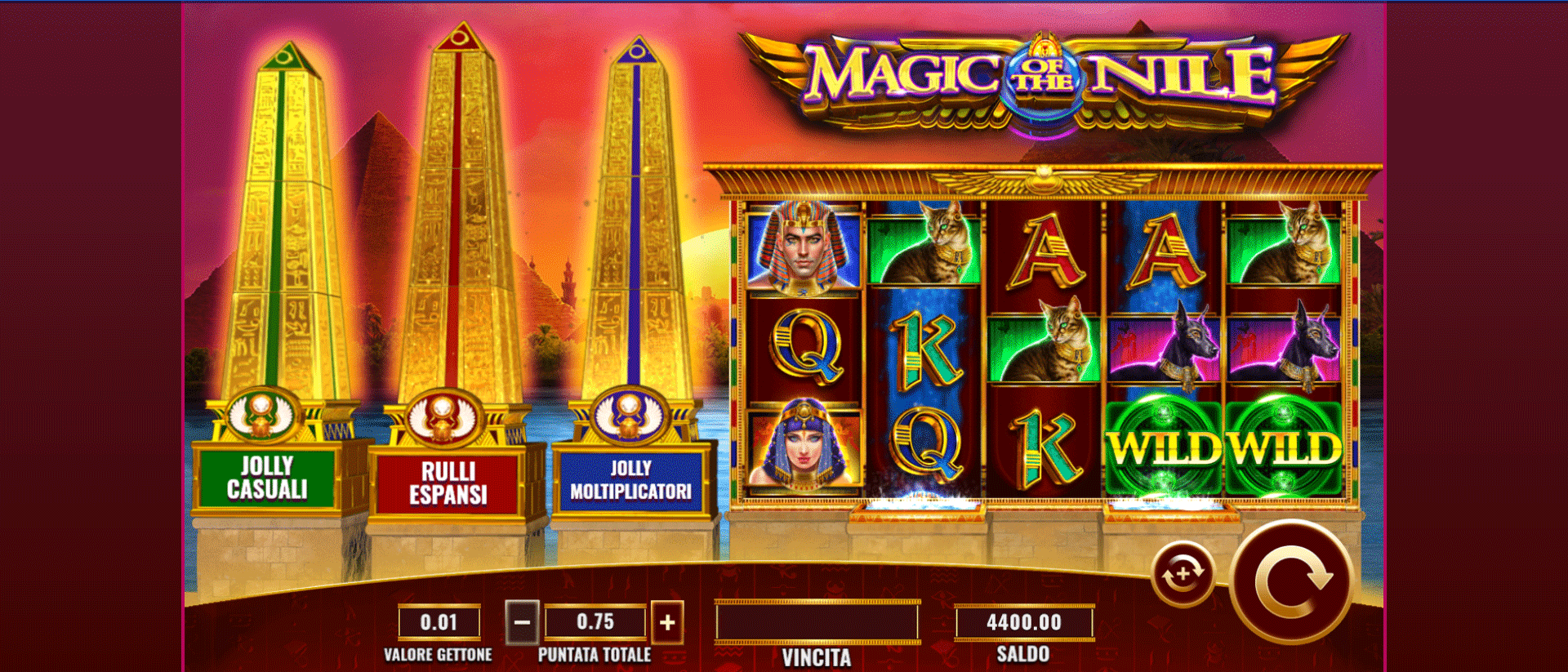 Slot Magic of the Nile