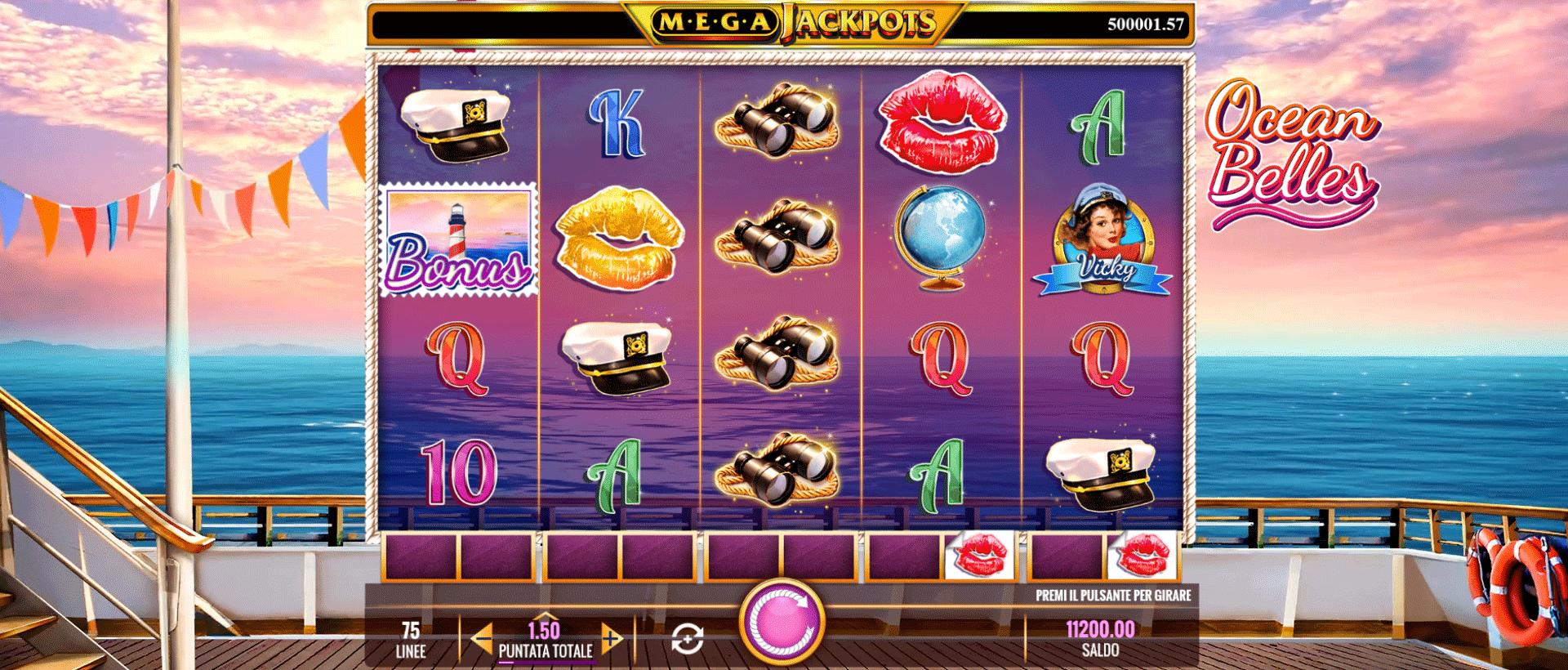 Slot Megajackpots Ocean Belles