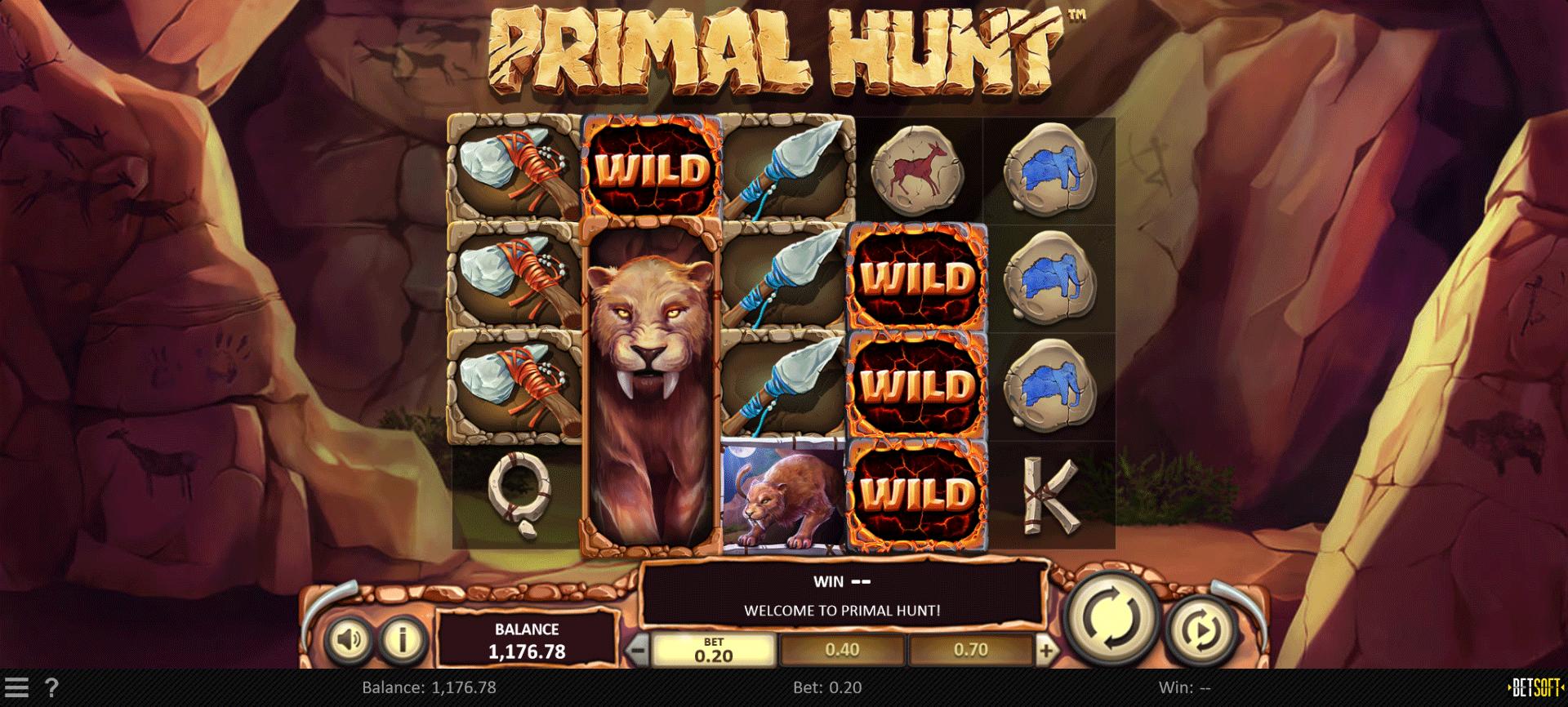 Slot Primal Hunt