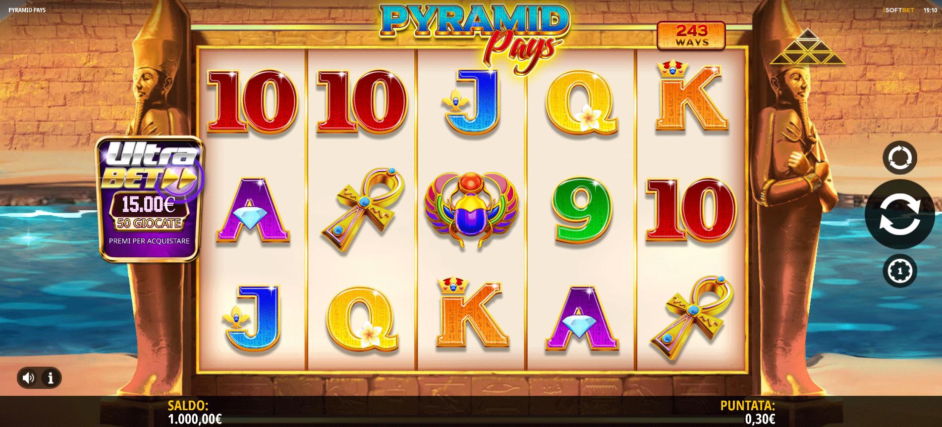 Slot Pyramid Pays
