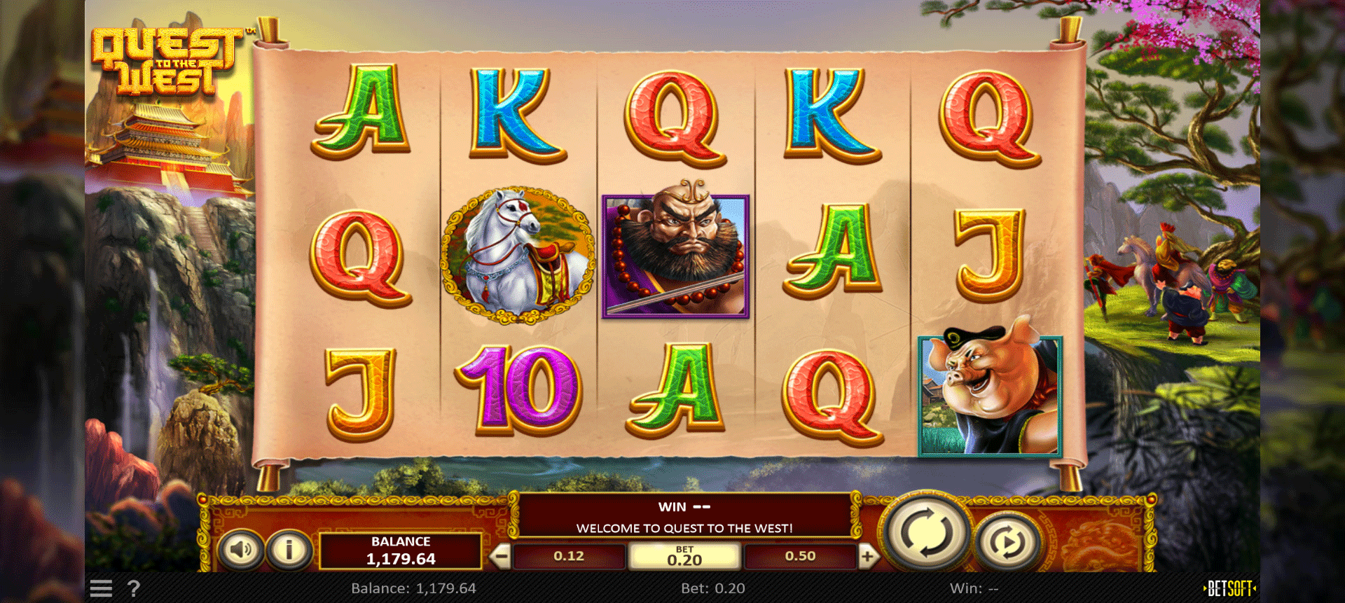 Slot Quest to the West