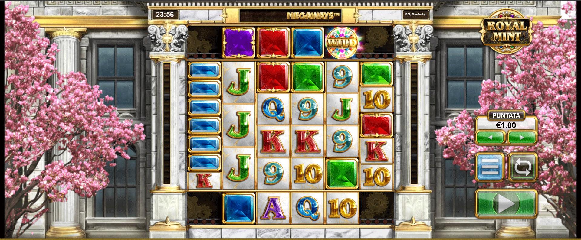 Slot Royal Mint Megaways