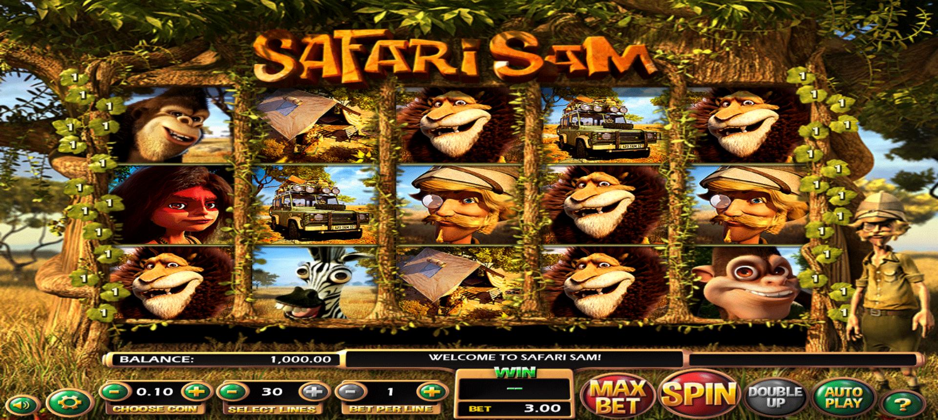 Slot Safari Sam