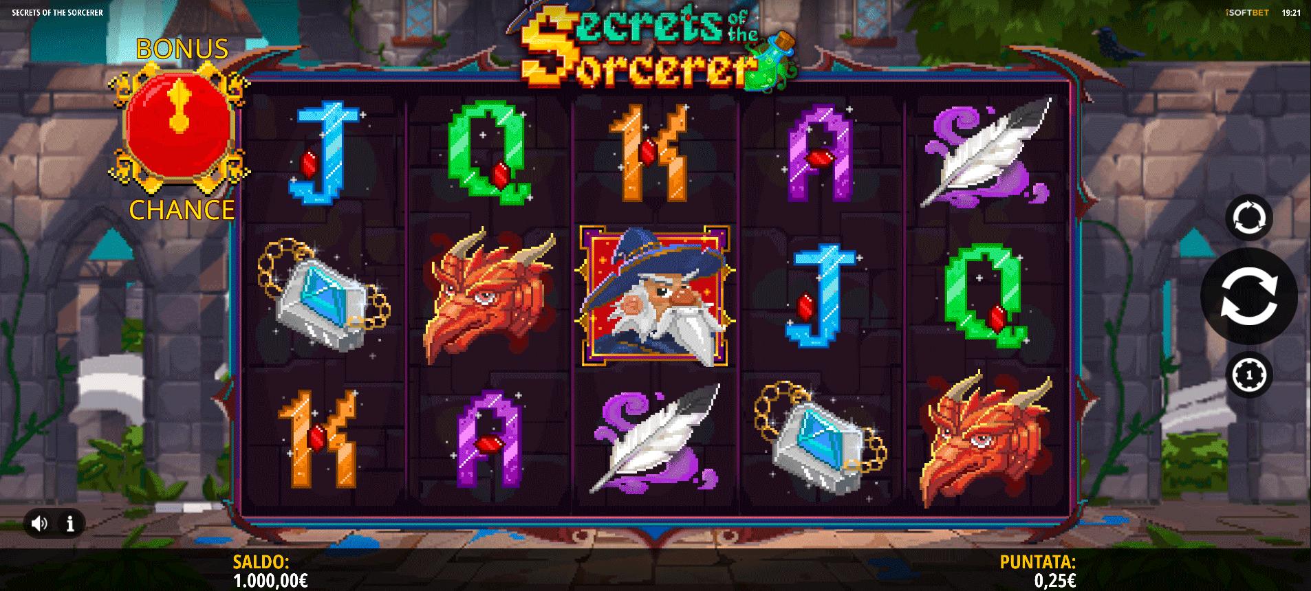 Slot Secrets of the Sorcerer