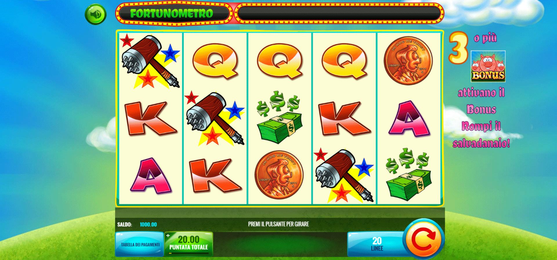 Slot Smash the Pig
