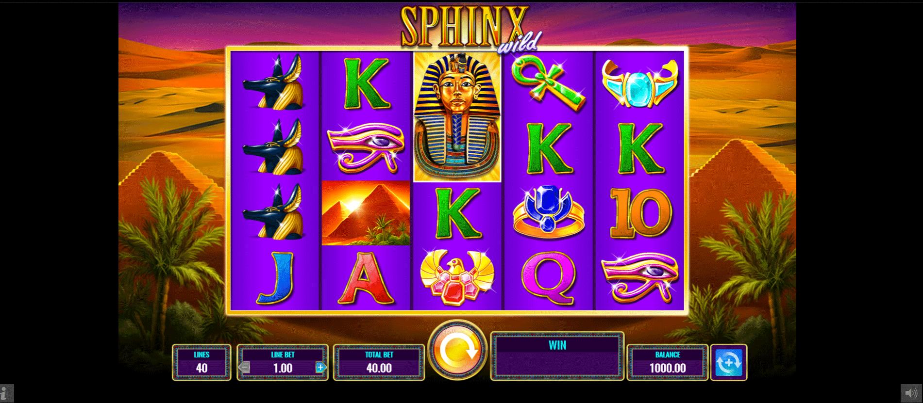 Slot Sphinx Wild
