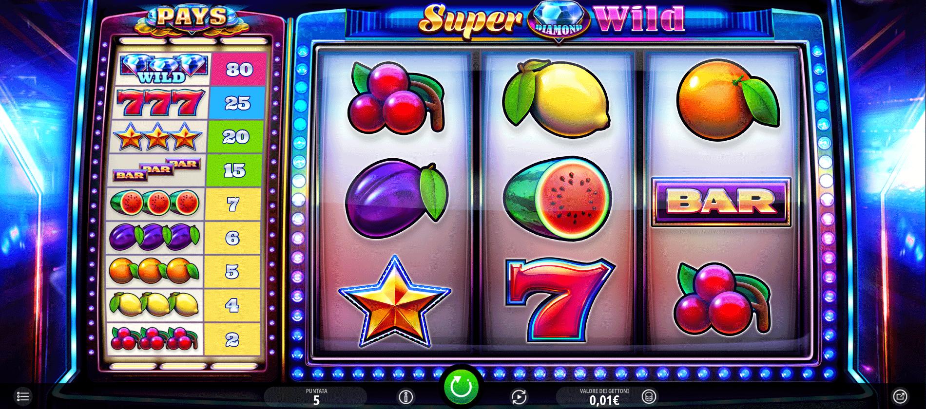 Slot Super Diamond Wild