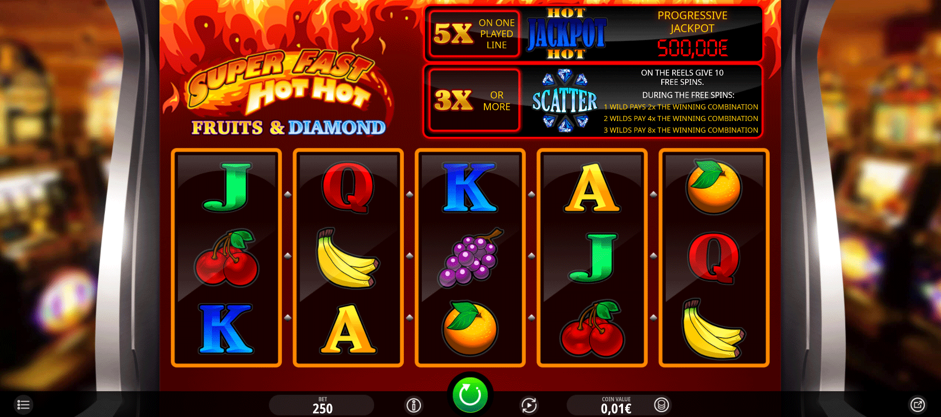 Slot Super Fast Hot Hot