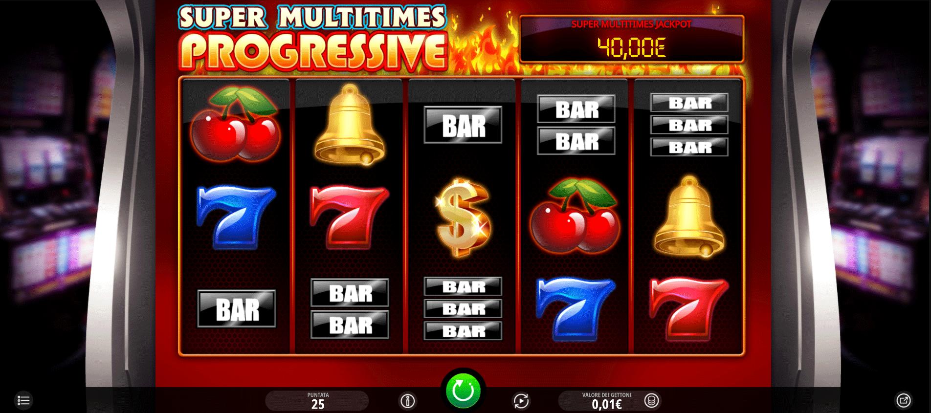 Slot Super Multitimes Progressive