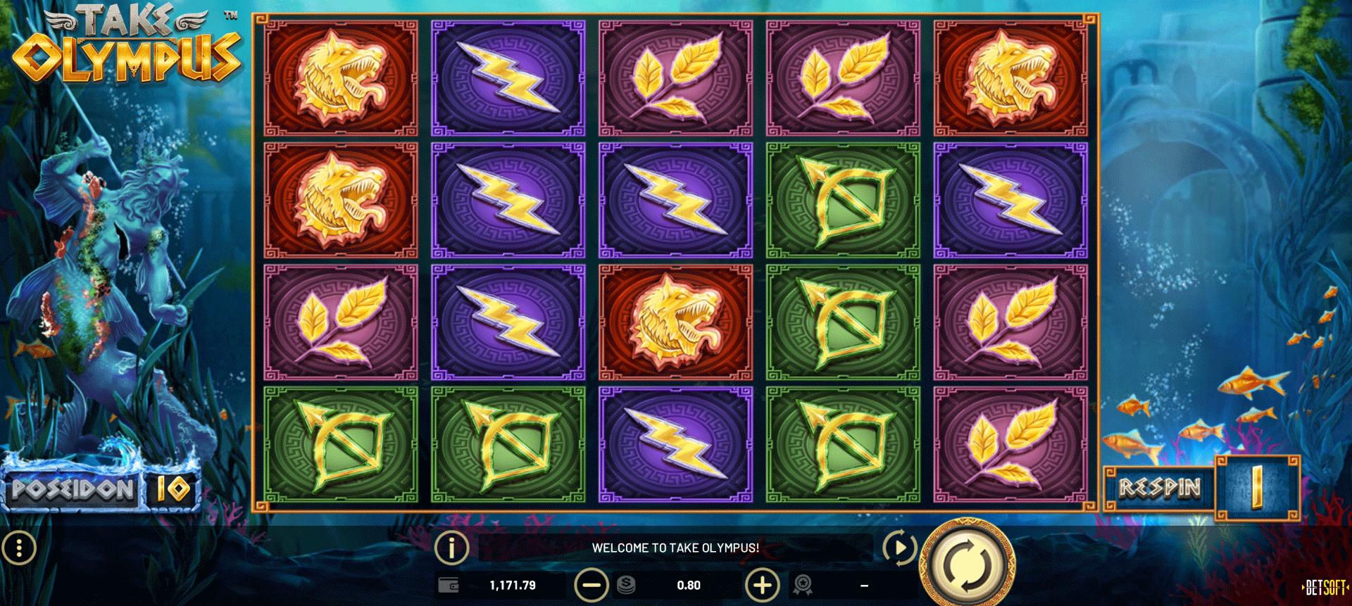 Slot Take Olympus